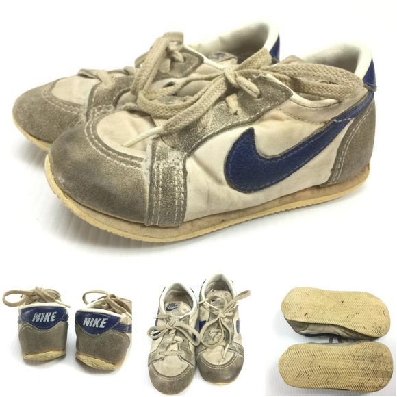 fb605722b2db0 Vintage Nike Toddler running shoes size 7.5 G2-3